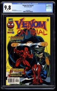 Venom: On Trial #2 CGC NM/M 9.8 White Pages