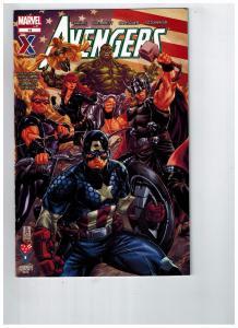 Avengers # 14 AAFES Military Comic Book Marvel 2013 14th Edition January BN1