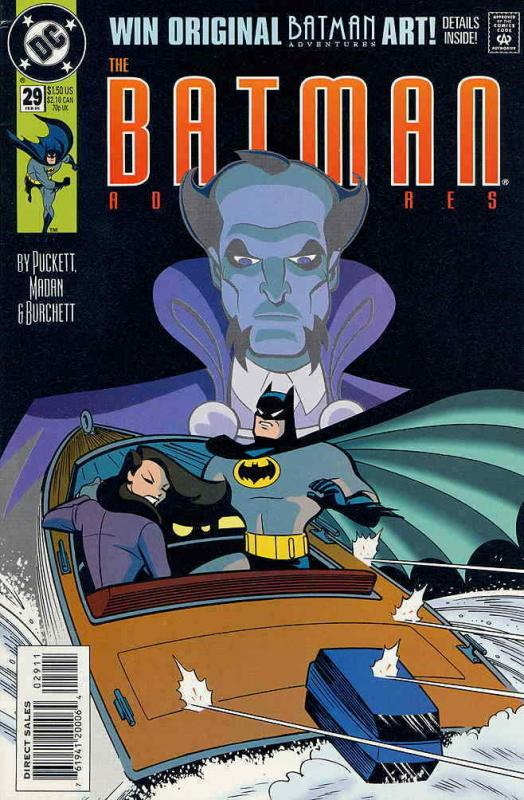 Batman Adventures, The #29 VF/NM; DC | save on shipping - details inside