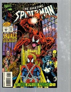 Amazing Spider-Man # 403 NM Marvel Comic Book MJ Vulture Hob-Goblin VENOM TJ1