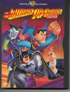 Batman/Superman Movie DVD