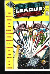 The Official Justice League of America Index #2 (1986)