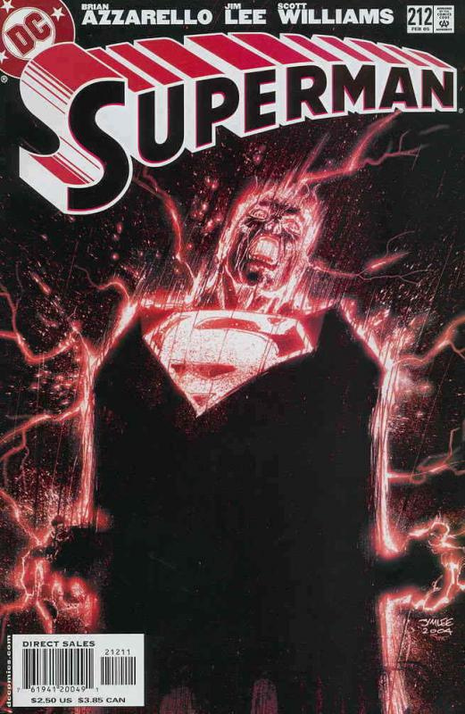 Superman (2nd Series) #212 VF/NM; DC | save on shipping - details inside