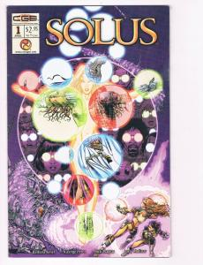 Solus # 1 NM Crossgen Comic Book Solusandra Barbara Kesel George Perez S80