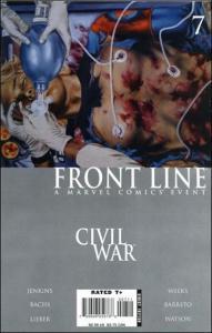Marvel CIVIL WAR: FRONT LINE #7 NM-