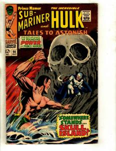 Tales To Astonish #96 FN/VF Marvel Comic Book Hulk Sub-Mariner Avengers Thor GK3