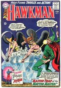 HAWKMAN #9-dc silver-age-1965-ATOM appears FN+