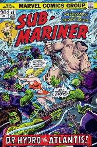 Sub-Mariner, The (Vol. 2) #62 VG; Marvel | low grade comic - save on shipping -