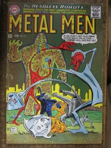 METAL MEN #14 (DC,7/1965) VERY GOOD (VG) Classic Silver Age Nuttiness! Chemo!