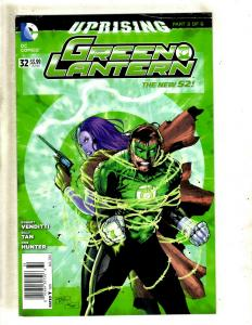 Lot Of 10 Green Lantern DC Comic Books 32 34 35 36 37 38 39 41 42 43 Batman MF16