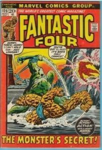 Fantastic Four 125 Aug 1972 FI- (5.5)