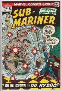 Sub-Mariner #61 (May-73) NM/NM- High-Grade Sub-Mariner (Prince Namor)
