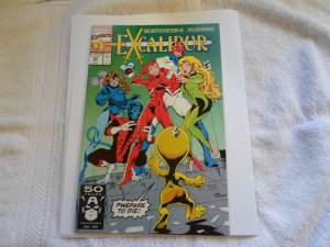 1992 marvel COMIC EXCALIBUR # 42