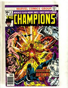 Lot of 5 The Champions Marvel Comic Books #8 9 10 11 12 GK18