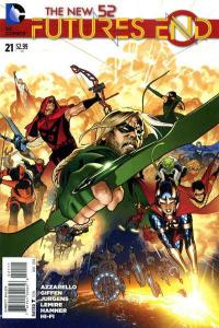 New 52: Futures End #21, NM (Stock photo)