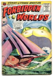 Forbidden Worlds #83 1959- Demon of the Wind FN