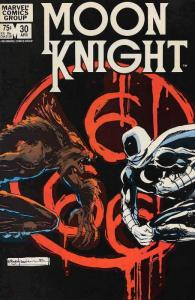Moon Knight (1st Series) #30 FN; Marvel | save on shipping - details inside