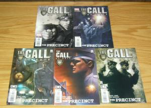 the Call of Duty: Precinct #1-5 VF/NM complete series POLICE 9/11 marvel comics