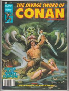 Savage Sword of Conan #48 (Jan-80) VF/NM High-Grade Conan