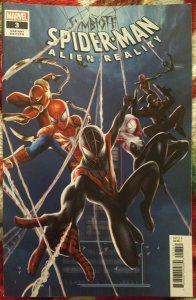 Symbiant Spider-man Alien Reality #3 NM cover C Jie Yuan chinese New year cover
