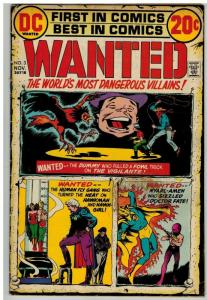 WANTED (1972) 3 G-VG Nov. 1972