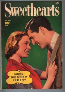 Sweethears #103--1951--George Evans--Fawcett Romance Golden-Age--FN FN