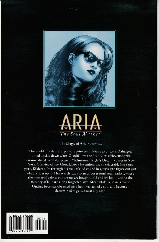 Aria - The Soul Market # 1,2,3,4,5,6