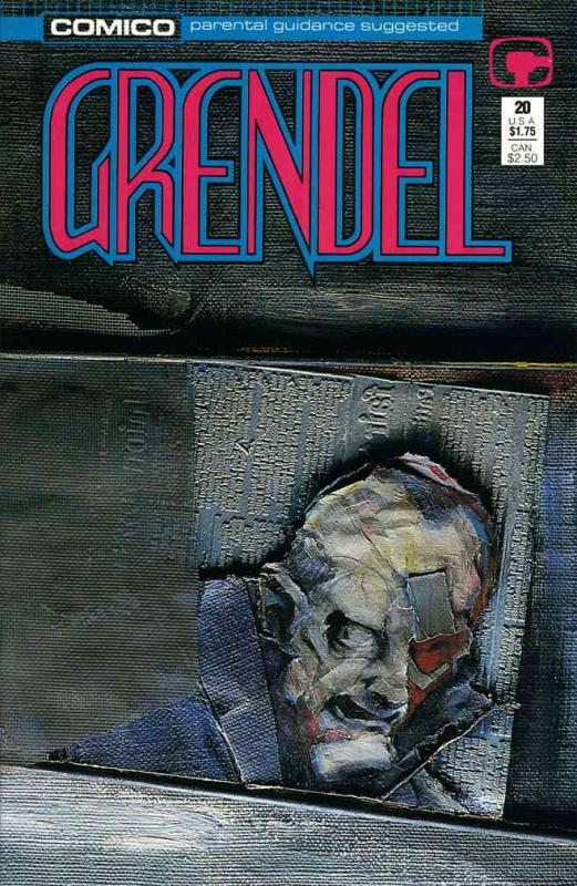 Grendel (2nd Series) #20 FN; COMICO | save on shipping - details inside