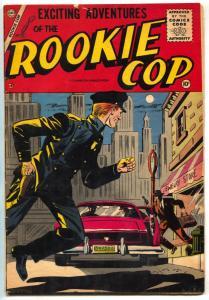 Rookie Cop #30 1956- Charlton Comics - VG+