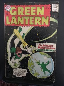 Green Lantern #24 (1963) affordable grade 1st shark key! VG+ Wow!