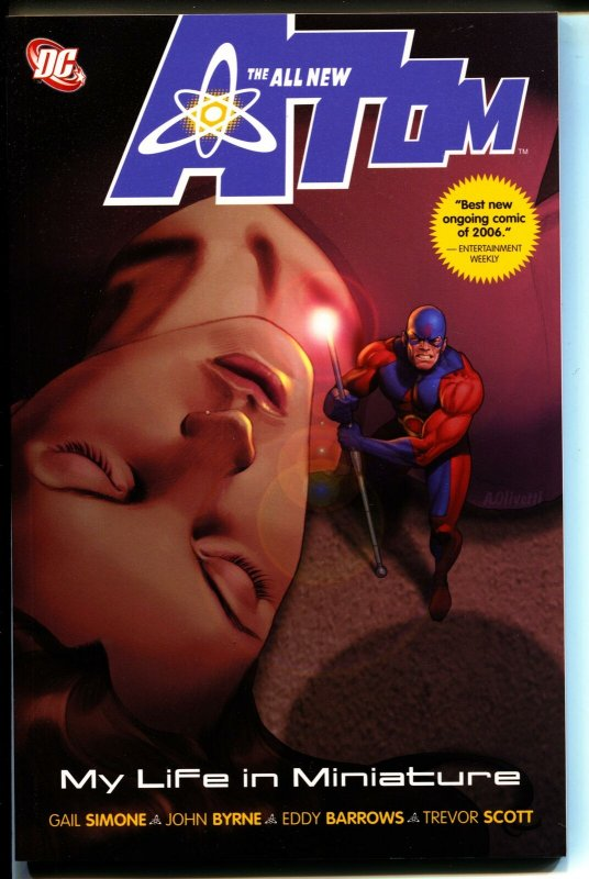The All New Atom: My Life In Miniature-Gail Simone
