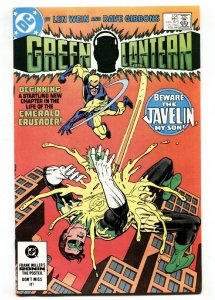GREEN LANTERN #173-First appearance JAVELIN -DC comics NM-