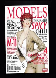 MODELS INC. #2 Limited Series, Marvel Comics 2011 ~ NM (HX544)