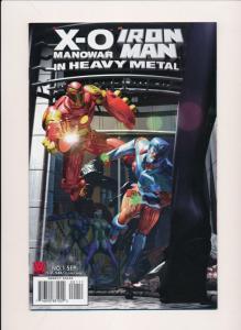 Valiant Comics X-O Manowar & IRON MAN in Heavy Metal #1 ~ VF+ (PF10)