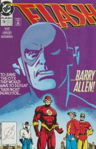 Flash (2nd Series) #78 VF/NM; DC | save on shipping - details inside