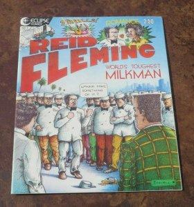 Reid Fleming #1 VF+ 5th Print WP 1989 Eclipse Comic Book Worlds Toughest Milkman