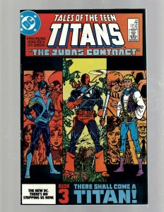New Teen Titans # 44 NM DC Comic Book Raven Cyborg 1st Nightwing Appearance GK21