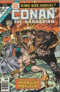 Conan the Barbarian King-Size # 2 Strict NM- Artist John Buscema