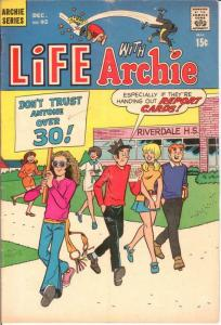 LIFE WITH ARCHIE (1958-    )92 VG Dec. 1969 COMICS BOOK
