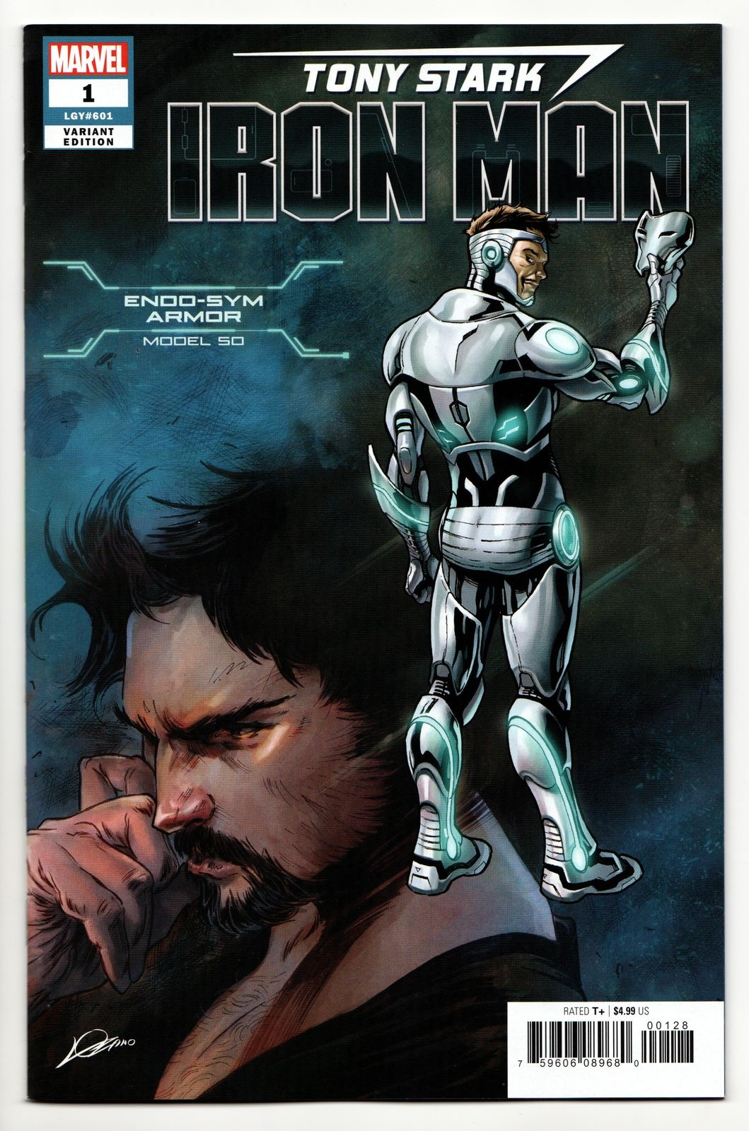SUPERIOR IRON MAN #4 STANDARD COVER