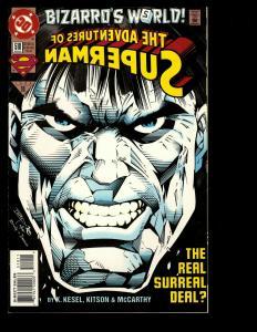 10 Adventures of Superman DC Comics 510 511 512 513 514 515 516 517 517 519 JF16