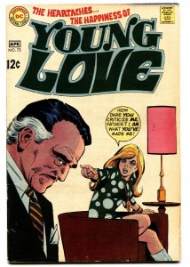 YOUNG LOVE #73 comic book 1969-DC ROMANCE FN