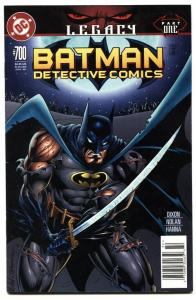 Detective Comics #700 2010  Batman DC comic book