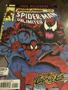 Marvel Spider-Man Unlimited True Believers #1 Maximum Carnage Mint