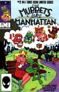 Muppets Take Manhattan #2, NM- (Stock photo)