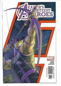 Avengers: Earth's Mightiest Heroes #6 Marvel 2005 NM Scott Kolins Hawkeye cover
