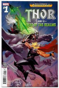 Marvel THOR: ROAD TO WAR OF THE REALMS #1 VF/NM Halloween Comicfest