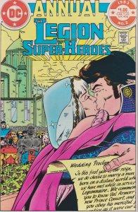 DC Comics! Legion of Super-Heroes! Annual! Issue 2!