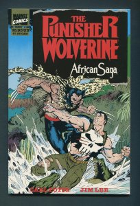 Punisher/Wolverine African Saga  TPB  / 9.8 NM-MT  1st Print  1989
