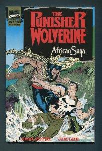 Punisher/Wolverine African Saga  TPB  / 9.8 NM-MT  1st Print  1989